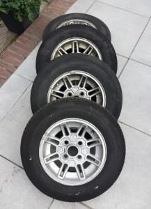 Te Koop Originele Ford Capri Velgen Incl Banden Ford
